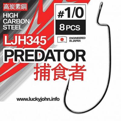 Ofesetiniai kabliukai Lucky John Predator LJH345