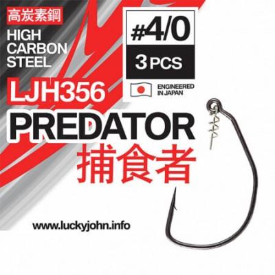 Ofsetiniai kabliukai Lucky John Predator LJH356
