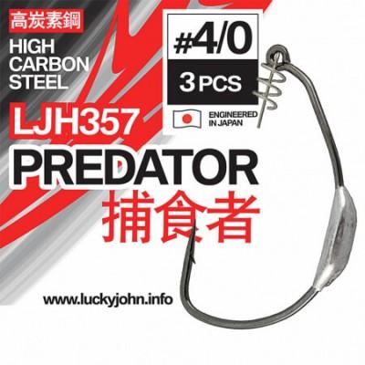 Ofsetiniai kabliukai Lucky John Predator LJH357