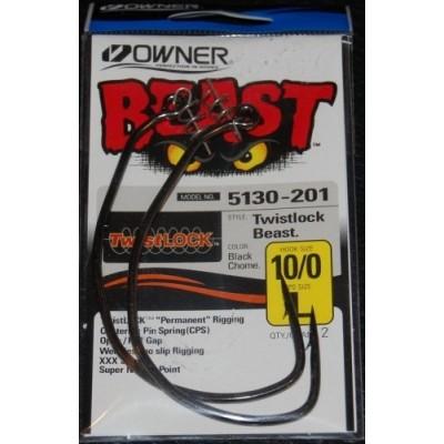 Ofsetiniai kabliai Owner Beast 5130