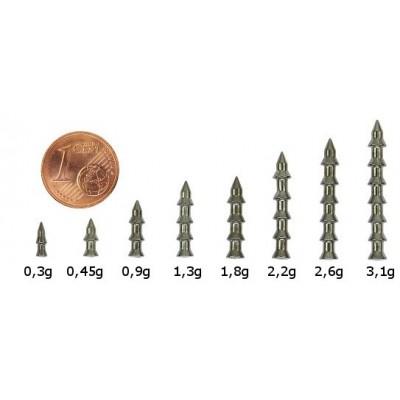 Volframiniai Pagoda Nail vinukai