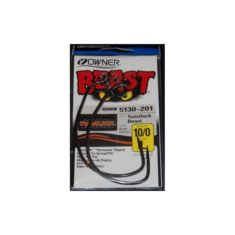 Ofsetiniai kabliai su svoriu Owner Beast 5130W